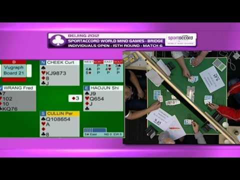 2012 - World Mind Games Bridge - Day 7