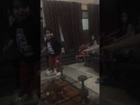 Cute cousin dancing around; my Pakistan trip!!