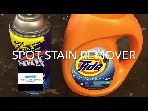 Spot Shot Instant Carpet and Fabric Stain Remover Versus Tide Cold Water Clean, Fresh Scent!!!
