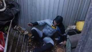 How Batman broke his leg