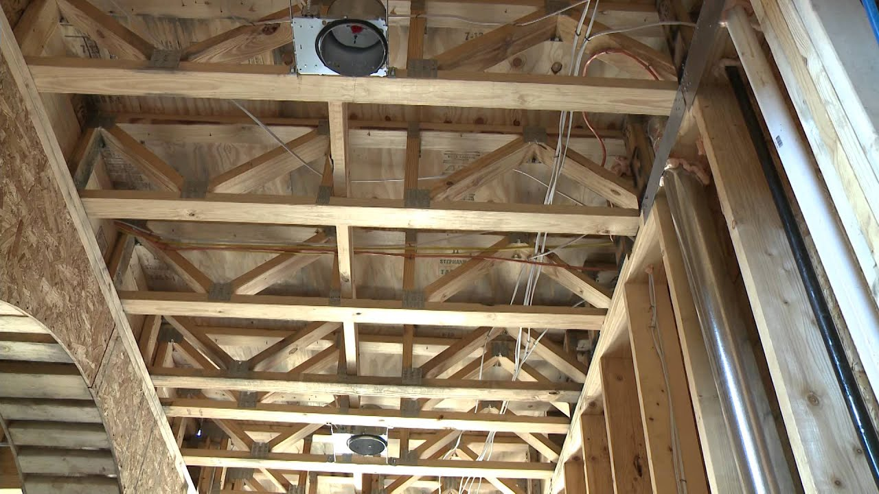 2 open web floor trusses youtube