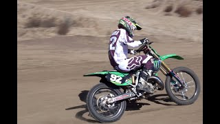 Adam Cianciarulo Ripping A KX125 | Premix Remastered | Fox Friday