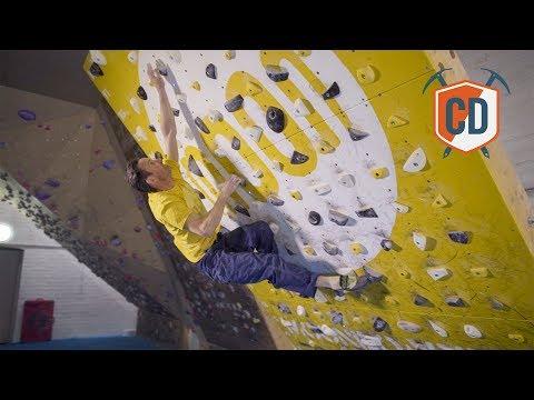 Ben Moon's Electronic Climbing Training Board | Climbing Daily Ep.975