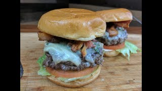 Bacon and Chive Butter Burger Recipe