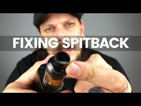 How To Fix Spitback | Vape Tutorial Why Your Tank Spits