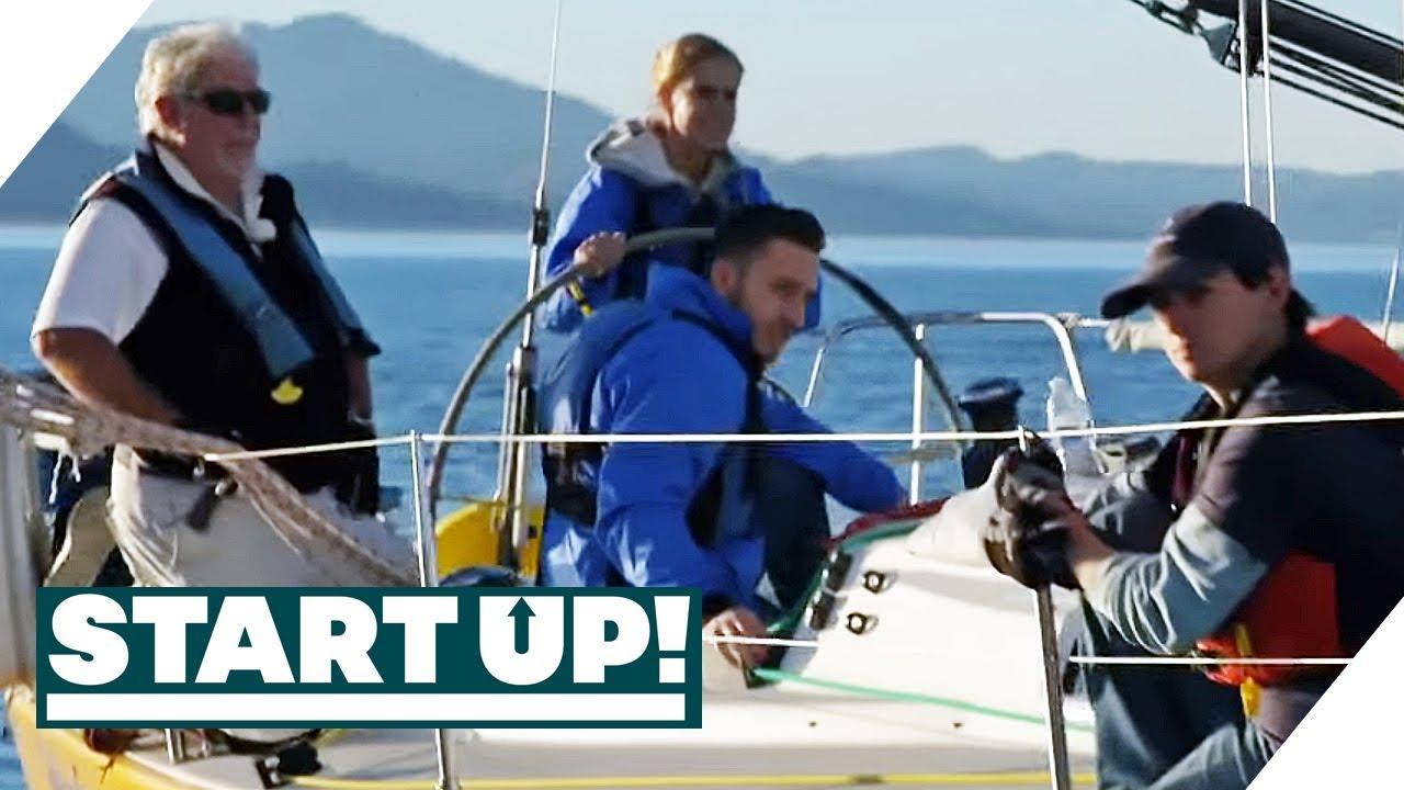 Segel-Flop: Das langsamste Rennen der Welt? | Start Up! | SAT.1 TV
