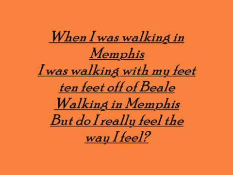 Marc Cohn - Walking in Memphis lyrics