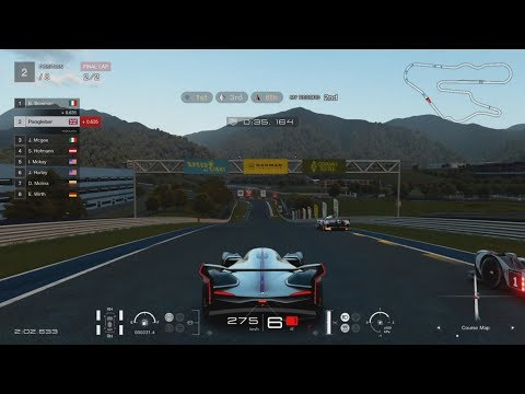 Gran Turismo Sport Demo - Kyoto Driving Park Yamagiwa 2 lap Group 1 Race (Gold Medal)