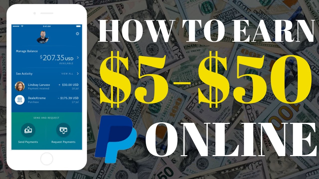 HOW TO EARN MONEY ONLINE $5-$50 A DAY - PAYPAL 2019 (100% WORKS)