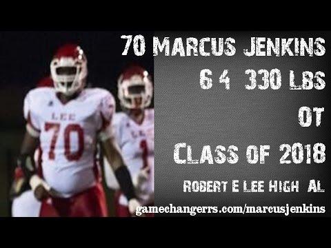 #70 Marcus Jenkins / OT / Robert E. Lee High (AL) Class of 2018