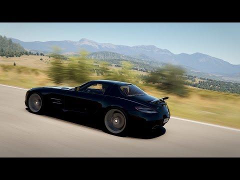 Forza Horizon 2 - Race Sisteron - Mercedes SLS AMG