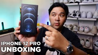 IPHONE 12 PRO Unboxing in the Philippines! Ang LUPET!