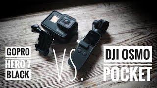 Gambar cover Head to head: DJI Osmo Pocket vs. GoPro Hero 7 Black bareng Berty Statement Prod