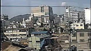 【車窓】阪神淡路大震災直後のJR神戸線(95年2月15日 快速 須磨-神戸 山側)