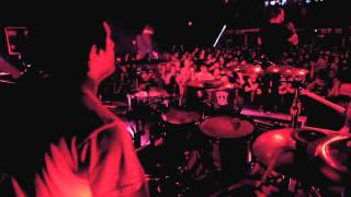August Burns Red - Back Burner (ft. Trey Celaya of Invent, Animate) HD Drum Cam