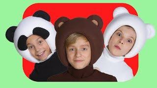 Download СБОРНИК из 12 детских песен - Три Медведя - Three bear songs - Пук пук, Чух чух, Ням ням Mp3 and Videos