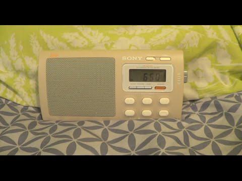 """Sony ICF-M410V """"Liv"""" AM/FM/VHF-TV/Weather Radio"""