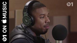 Promo: Michael B. Jordan goes deep while discussing 'Black Panther