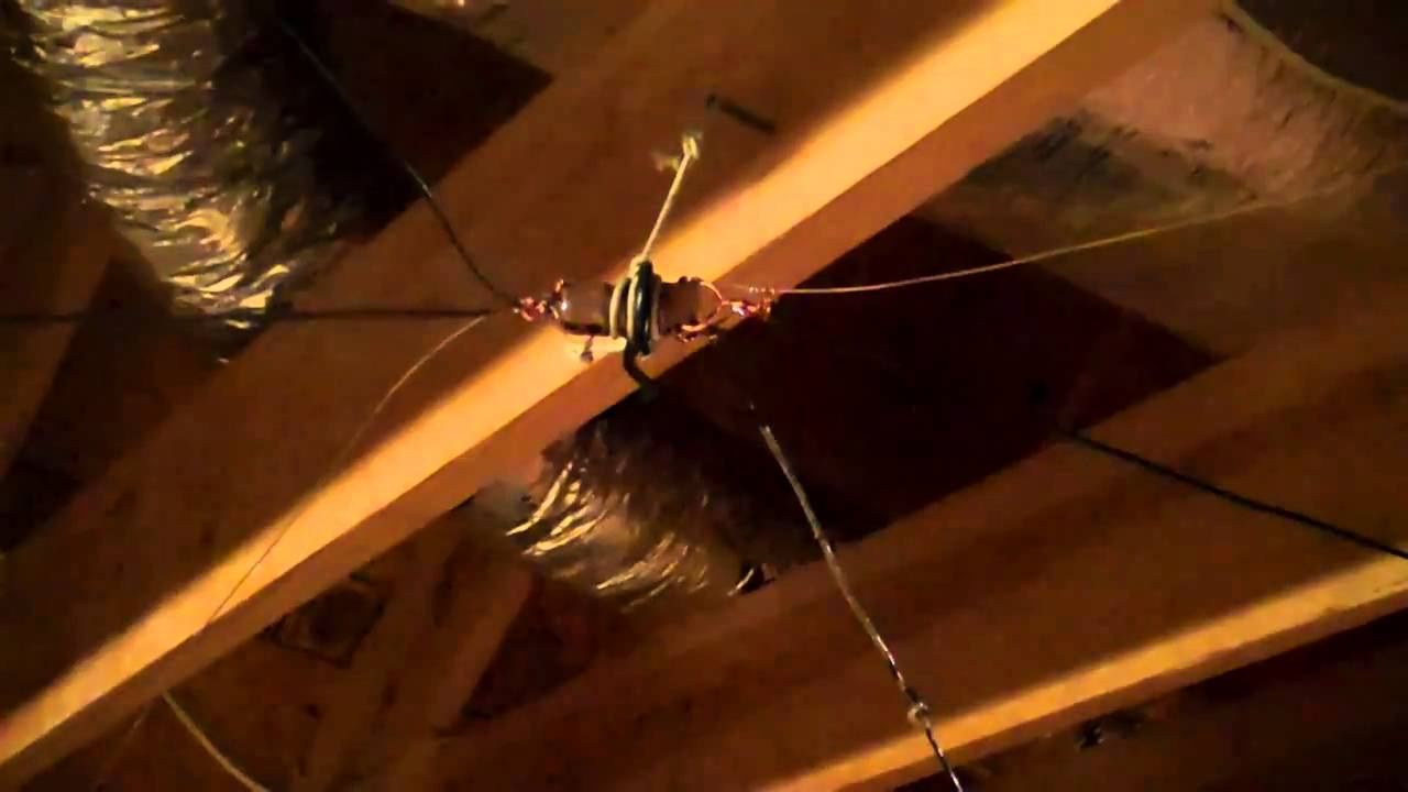 Folded Dipole Attic Antenna