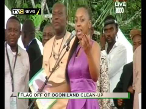 Finally, Federal Government begins clean up of Ogoniland.