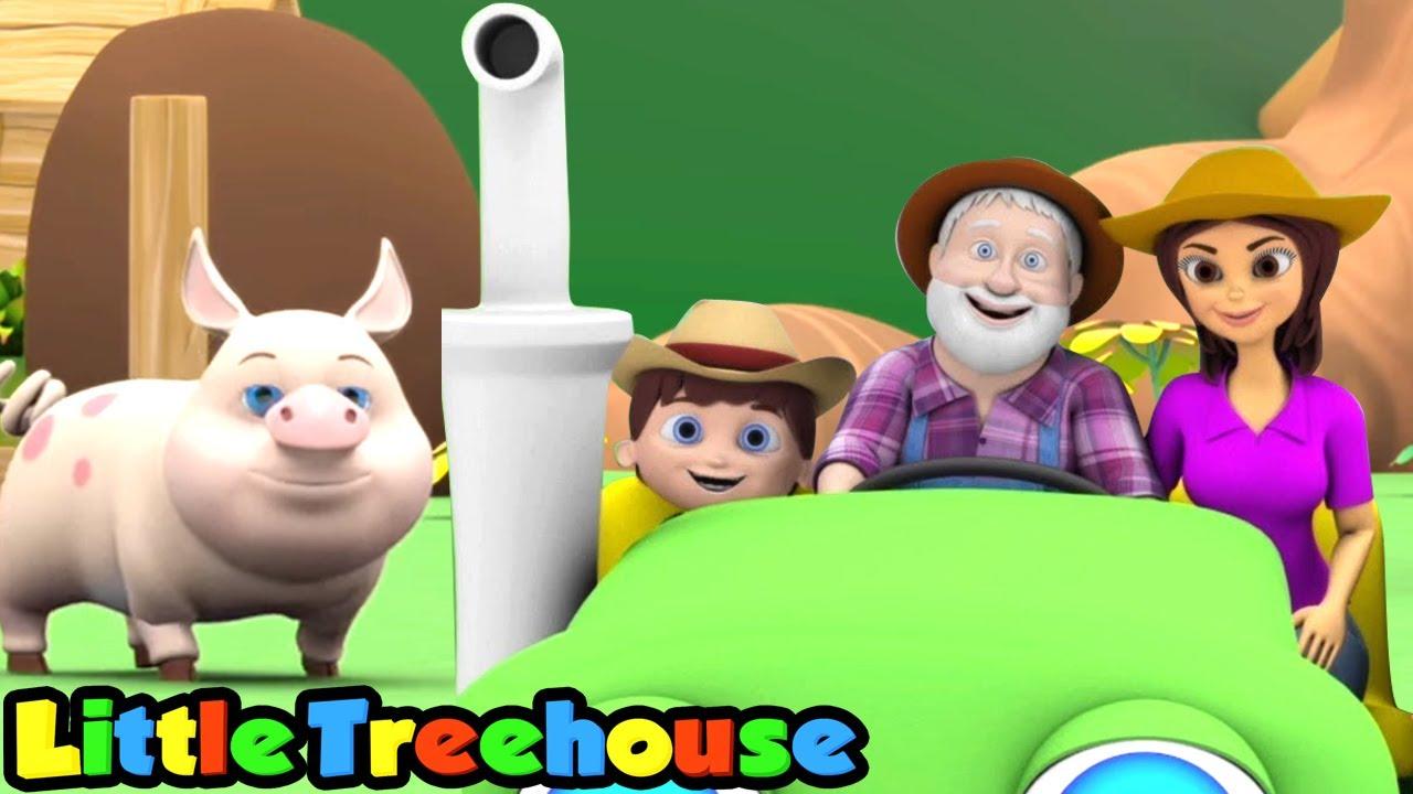 Nông dân ở dell   Vần điệu trẻ   Hoạt hình thiếu nhi   Little Treehouse Vietnam   Giáo dục