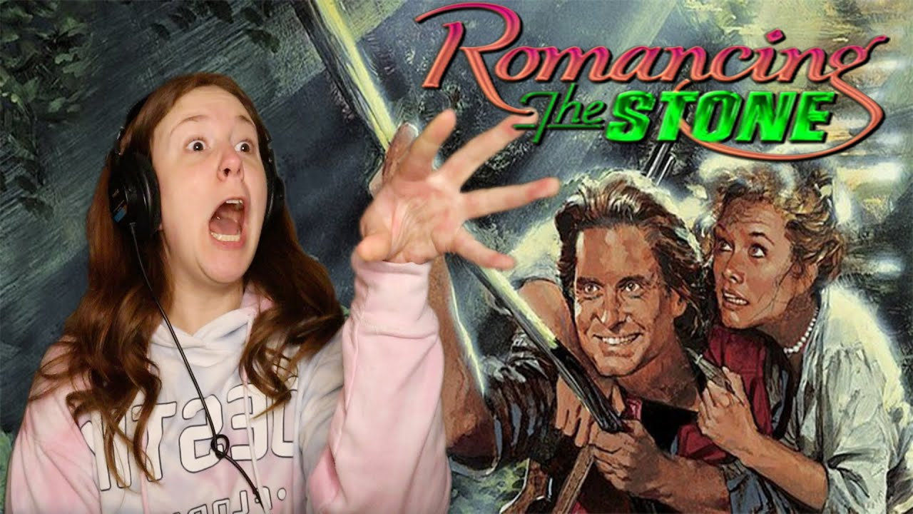 Download Romancing The Stone * FIRST TIME WATCHING * reaction & commentary *