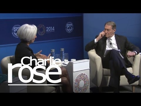 Christine Lagarde on the IMF and the U.S. | Charlie Rose