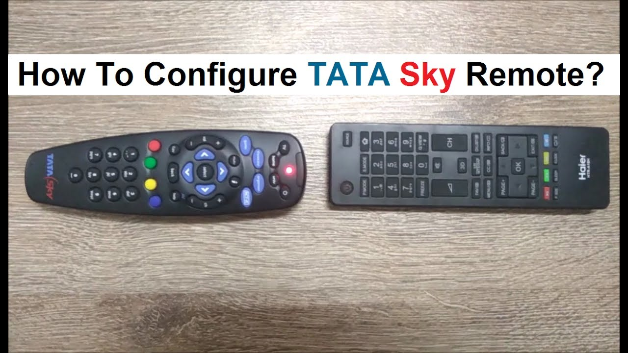 how to pair your tata sky universal remote quick and easy steps rh youtube com tata sky hd remote user manual tata sky hd stb user manual