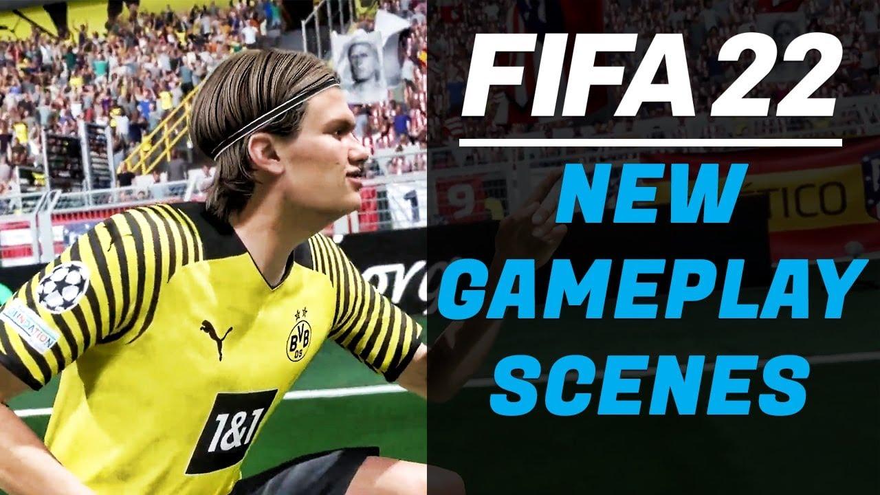 جيم بلاي فيفا 22 Fifa الرسمي الجديد