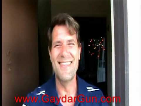 JIM J. BULLOCK gets a knock on his door from the GAYDAR GUN!