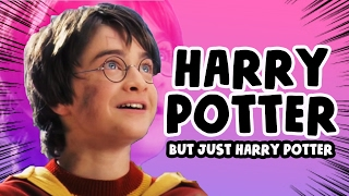 """Every Harry Potter Movie but only the words """"Harry"""" and """"Potter"""""""