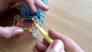 """Плетение браслета """" Квадрофиш"""" Урок # 3"""