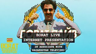 Borat Subsequent Moviefilm: Q&A with Borat (Internet Presentation) | Prime Video