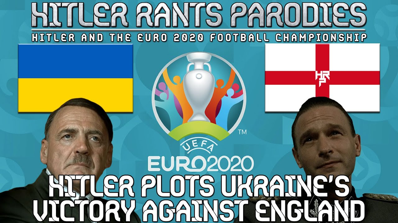 Hitler plots Ukraine's victory against England