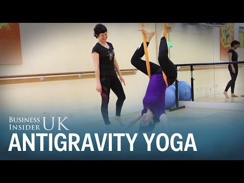 What is antigravity yoga?