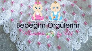 Kurdeleli Bebek Battaniyesi Yapımı