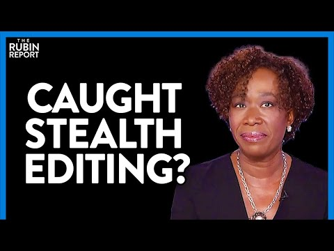 MSNBC Gets Caught Stealth Editing Joy Reid's Ignorant Antifa Comments | DM CLIPS | Rubin Report