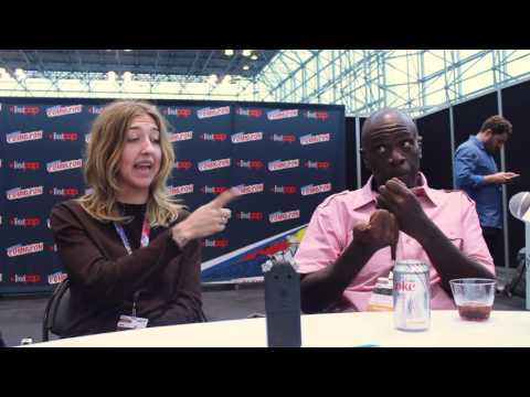 Gary Anthony Williams and Heidi Gardner SuperMasion Interview