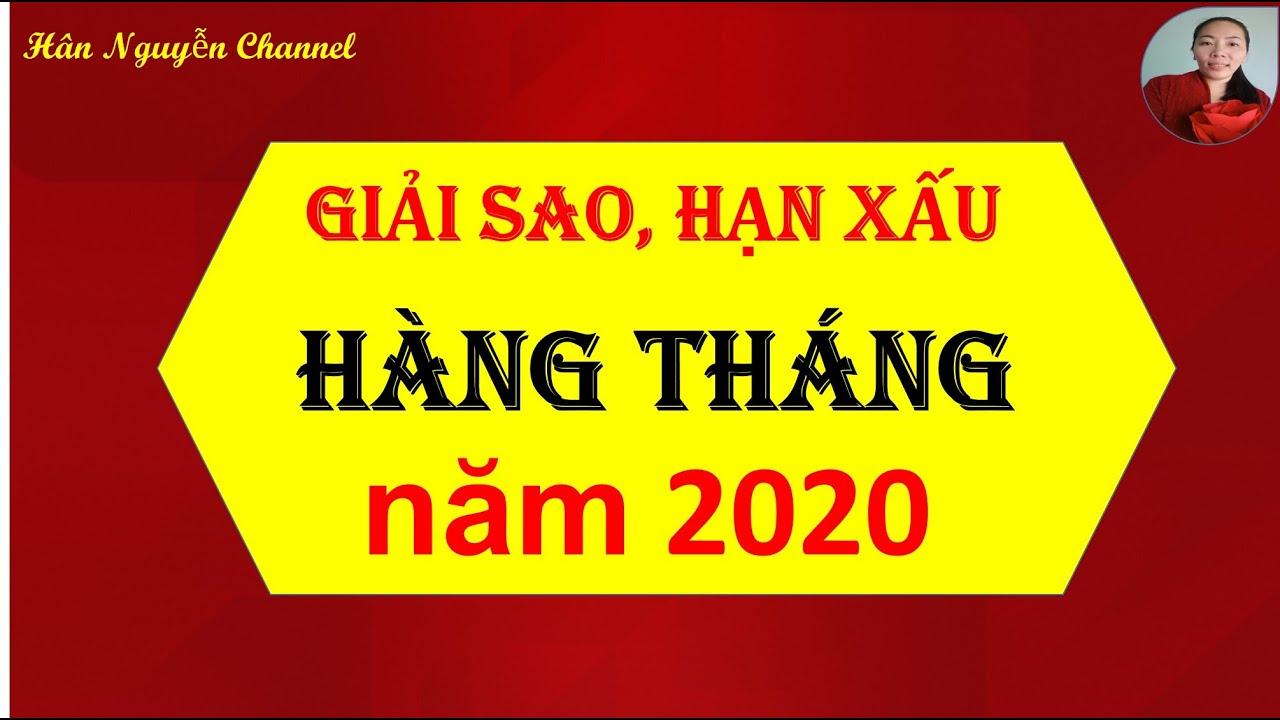 Phong thủy giải SAO-HẠN xấu hàng tháng năm 2020| Cách cúng SAO giải hạn năm 2020| Hân Nguyễn Channel