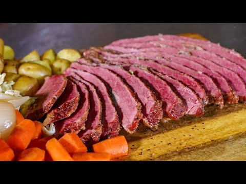 Smoked Corned Beef Brisket With Jody | REC TEC Grills