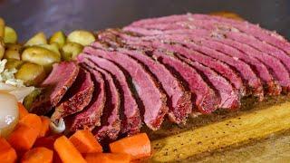 How to Smoke Corned Beef Brisket with Jody | REC TEC Grills