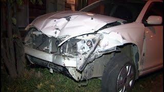 25-летний водитель пострадал по вине пьяного шофера .MestoproTV