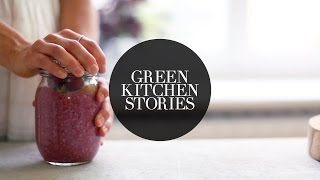 Berry & Chia Breakfast Pudding | Green Kitchen Stories