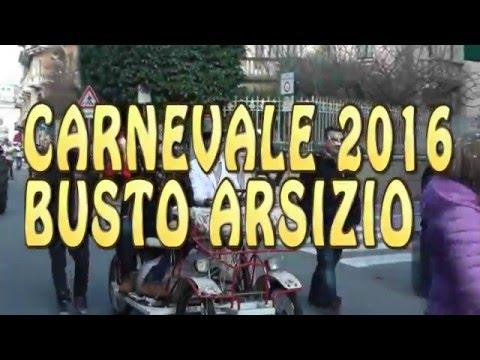 CARNEVALE 2016 A BUSTO ARSIZIO