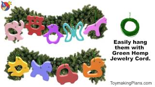 Wood Toy Plans - Baby Teether Ornaments