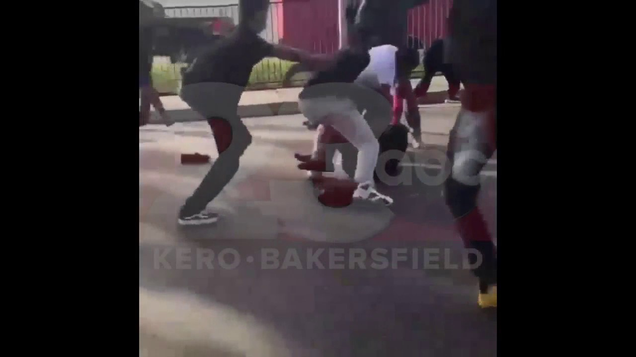 Warning Graphic Images And Language Fight Outside West High