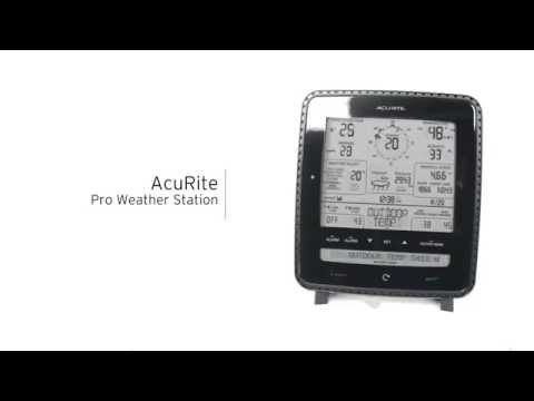 AcuRite Pro Weather Station with Weather Ticker, Wind and Rain 01500 / 01515
