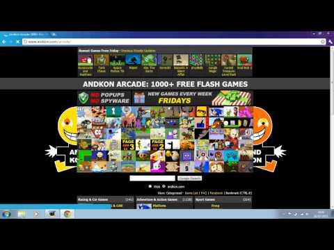 Andkon 1000 Flash Games