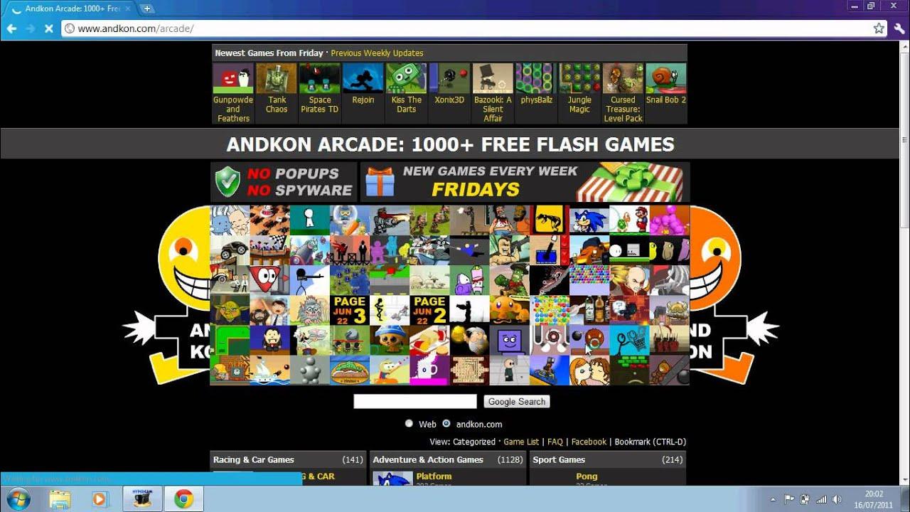 Flash Games Arcade