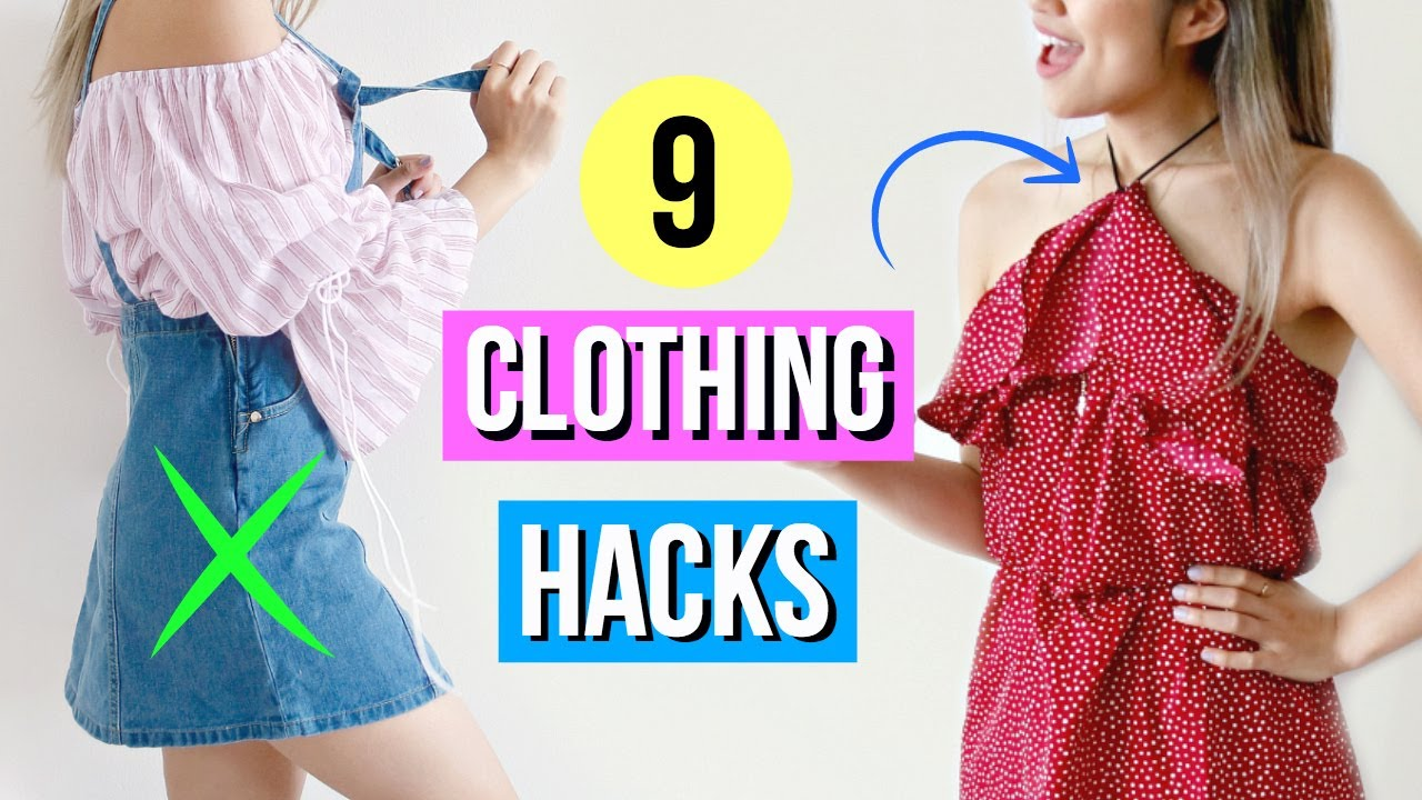 9 Travel Clothing Hacks EVERY Girl Must Know!